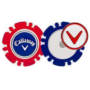Callaway Dual-Mark Poker Chip Ball Marker (2-Pack)