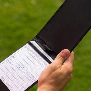 Custom Callaway Scorecard Holder