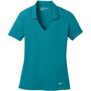 Nike Womens Golf Dri-Fit Vertical Mesh Polo