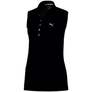 Puma Womens Pounce Sleeveless Polo