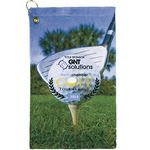 Microfiber Velour Golf Towel - 11