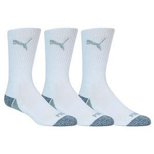 Custom Puma Men's Pounce Crew Socks 3 Pair Pack