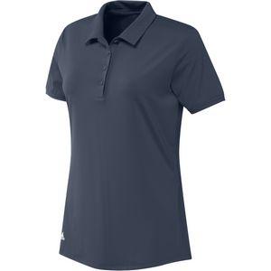 Adidas Ladies Ultimate Solid Sleeve Polo