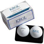 Titleist/Pinnacle PackEdge Custom 2 Ball Business Card Box