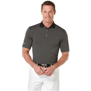 Callaway Men's Fine Line Core Stripe Polo