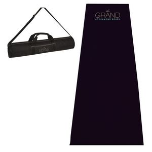 The Premier Double Thickness Full Length Yoga Mat and Case