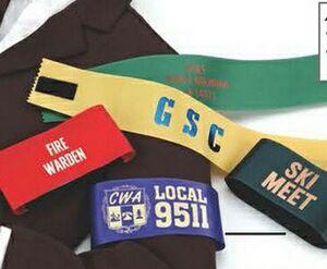 Custom Imprinted Budget Ribbon Armbands!