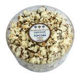 Custom Gourmet Chocolate Drizzled Popcorn Deluxe Small Tub (3 Oz.)
