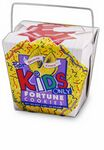 Custom For Kids Only Themed Fortune Cookie Pail w/bow