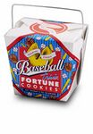Custom Baseball Themed Fortune Cookie Pail w/ Bow