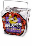 Custom Halloween Themed Fortune Cookie Pail w/ Bow