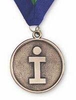 "3"" Die Cast Zinc Medallions Paperweight"