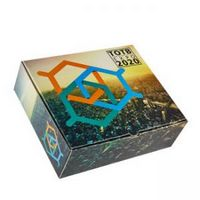 "Premium Full Color Custom Printed Shipping Box (11""x9""x3 1/2"")"
