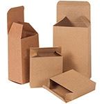 Custom Reverse Tuck Flap Kraft Box (1 1/2