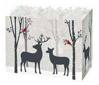 Small Woodland Deer Theme Gift Basket Box