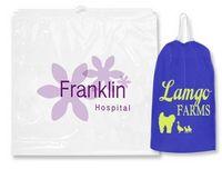 """Drawstring Plastic Bags - .00175 (16""""x18""""x3"""")"""