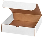 "White 1 Piece EZ Mailer Box (11 1/8""x8 5/8"")"