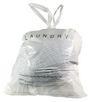 Hotel Laundry Bags w/Tear Tape Closure