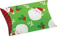 Jolly Santa Holiday Design Puff Pouch