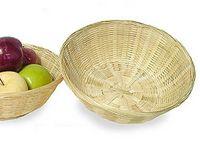 """13 1/2"""" Bamboo Bowl/ Basket"""