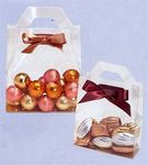 Custom Clear Tote Style Candy Box (4 7/8