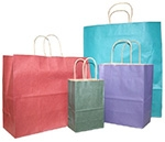 """Tints & Prints Paper Bags w/Twisted Paper Handle (8 1/4""""x4 1/2""""x10 3/4"""")"""