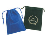 """Rayo Suede Drawstring Jewelry & Gift Pouches (4""""x5 1/2"""")"""
