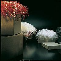 Metallic & Plain Paper Blends Shredded Paper (50 Lb. Box) - Very Fine Cut