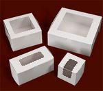 Custom Ohio Valley Waterfall Windowed White Cupcake Box (1 Cupcake Box)
