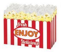 Small Fresh Popcorn Theme Gift Basket Box