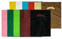 "Super Gloss Low Density Die Cut Plastic Bags - 1.25 Mil (12""x15"")"