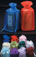 """Square Bottomed Organza Bags (4 1/2""""x4 1/2""""x11 1/4"""")"""