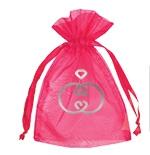 "Custom Imprinted Sheer Organza Gift Pouch - 5""X6 1/2"""