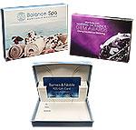 Custom Custom Digital Full Color Flip Gift Card Box w/Custom Printed Insert