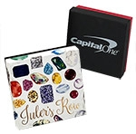 "Custom Full Color Printed Jewelry Box - 7""x5""x1 1/4"""
