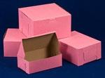 Custom Ohio Valley Pink Cupcake Box (4 Cupcakes)