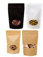Large Matte Paper Laminate Pouch Bag