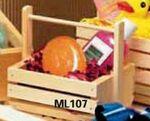 Custom Lobster Trap Basket/Wooden Crate (7