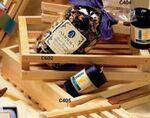 Custom Store Display Plain Wooden Gift Basket Crate (8