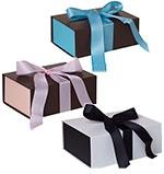 """Medium Ribbon Closure Gift Box - 8 3/4""""x5 7/8""""x2 5/8"""""""