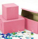 Custom Ohio Valley Pink Cupcake Box (2 Cupcakes)