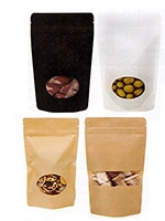Small Matte Paper Laminate Pouch Bag