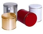 "Cylinder Metallic Tin (3 9/16""x3 1/4"")"