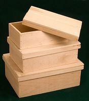 Nesting Set of Keepsake Box