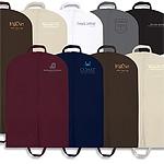 "Custom Screen Printed Non Woven Windowed Garment Bags (24""x46"")"
