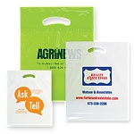 "Short Run Eco Friendly Die Cut Handle Bags (9""x12""x2"")"