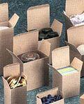 Custom Reverse Tuck Flap Kraft Box (2