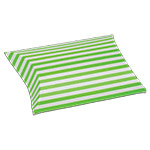 Striped Paper Puff Pouch (3