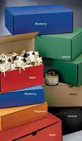 "Gourmet Brand Corrugated Shipping Box (6 1/2""x2 1/2""x1"")"