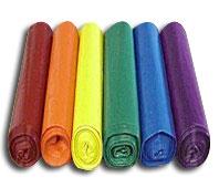 30 Gallon Colored Trash Bags & Plastic Liners -